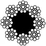 8-прядный канат типa S (Seal) DIN 3062 / DIN EN 12385-4-2003