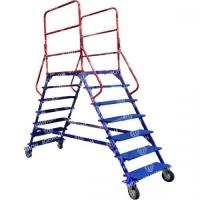 ЛР. Лестница передвижная с двумя лестничными маршами