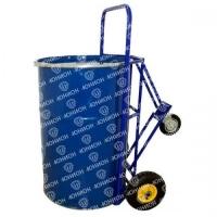 КБ-2. Бочкавоз, (бочкакат), тележка для транспортировки и хранения металлических бочек