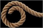 Веревка ПП декоративная
