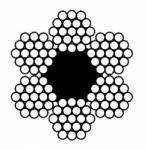 Канат двойной свивки типа ТК (ЧЗ, ВЗ) – ГОСТ 3070-88
