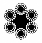 Канат двойной свивки типа ЛК-О – ГОСТ 3083-80