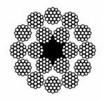 Канат двойной свивки многопрядный типа ЛК-Р(ВЗ) – ГОСТ 3088-80