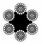Канат двойной свивки типа ТЛК-О – ГОСТ 3079-80