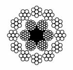 Канат двойной свивки многопрядный малокр-ся (ВЗ) – ГОСТ 16828-81