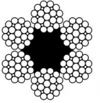 Канат типа F (Filler) DIN 3057 / DIN EN 12385-4-2003