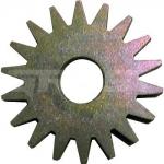 Звездочка стальная острозубая для фрезеровальных машин