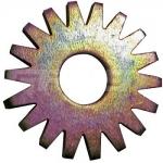 Звездочка стальная плоскозубая для фрезеровальных машин