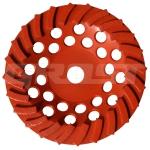Чашка двуряд-я D180/22,23/24 (25x6,5x6) для мозаично-шлиф-й маши