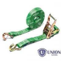 Ремень стяжной UNION Lifting для крепления груза 0,4/0,8т с крюками
