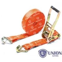Ремень стяжной UNION Lifting для крепления груза 2,0/4,0т с крюками