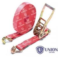 Ремень стяжной UNION Lifting для крепления груза 2,5/5,0т с крюками