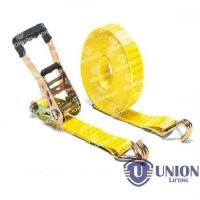 Ремень стяжной UNION Lifting для крепления груза 3,5/7,0т с крюками
