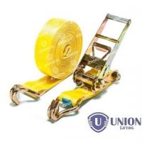 Ремень стяжной UNION Lifting для крепления груза 5,0/10,0т с крюками (75мм)