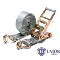 Ремень стяжной UNION Lifting для крепления груза 5,0/10,0т с крюками (100мм)
