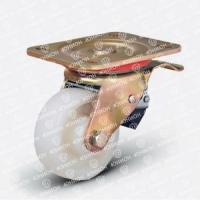Колесо большегрузное нейлоновое поворотное с тормозом