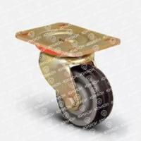 Колесо большегрузное обрезиненное поворотное